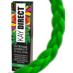 DIRECT CRAZY color 100ml Green - Intenzivní přímá barva bez použití oxidantu