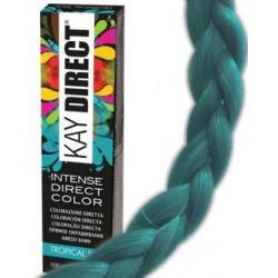 DIRECT CRAZY color 100ml Tropical Sea - Intenzivní přímá barva bez použití oxidantu