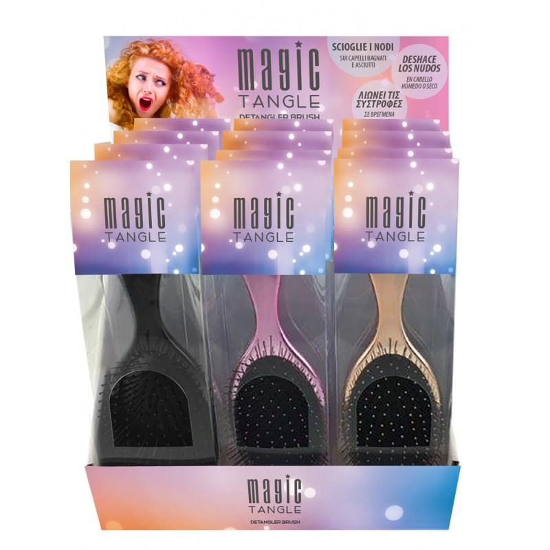 MAGIC TANGLE - zcela nové a jedinečné kartáče pro snadné rozčesávání vlasů