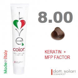 Love me Color 8.00 (100ml) - profesionální barva na vlasy s keratinem
