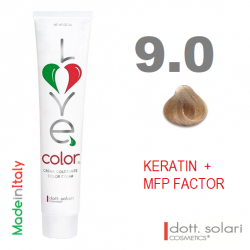 Love me Color 9.0 (100ml) - profesionální barva na vlasy s keratinem