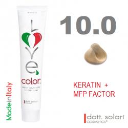 Love me Color 10.0 (100ml) - profesionální barva na vlasy s keratinem
