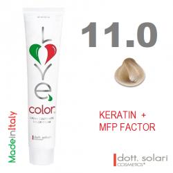 Love me Color 11.0 (100ml) - profesionální barva na vlasy s keratinem