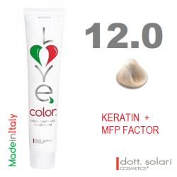 Love me Color 12.0 (100ml) - profesionální barva na vlasy s keratinem