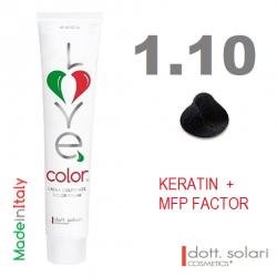 Love me Color 1.10 (100ml) - profesionální barva na vlasy s keratinem