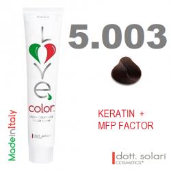 Love me Color 5.003 (100ml) - profesionální barva na vlasy s keratinem