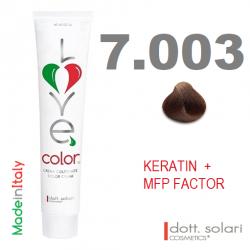Love me Color 7.003 (100ml) - profesionální barva na vlasy s keratinem
