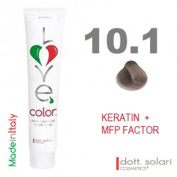 Love me Color 10.1 (100ml) - profesionální barva na vlasy s keratinem