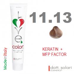 Love me Color 11.13 (100ml) - profesionální barva na vlasy s keratinem