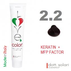 Love me Color 2.2 (100ml) - profesionální barva na vlasy s keratinem