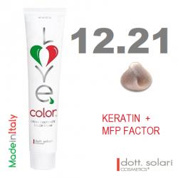 Love me Color 12.21 (100ml) - profesionální barva na vlasy s keratinem