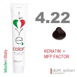 Love me Color 4.22 (100ml) - profesionální barva na vlasy s keratinem