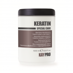 KAYPRO Keratin Mask 1000ml - restrukturalizační maska s keratinem pro poškozené vlasy