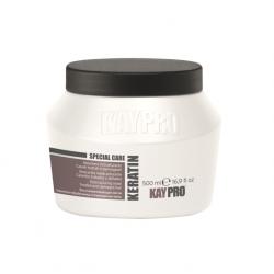 KAYPRO Keratin Mask 500ml - restrukturalizační maska s keratinem pro silně poškozené vlasy