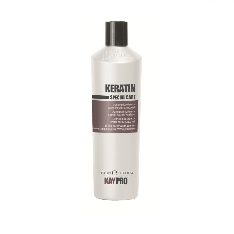 Keratin Shampoo 350ml - keratinový regenerační šampon pro silně poškozené vlasy