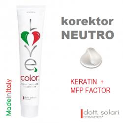 Love me Color korektor (100ml) - profesionální barva na vlasy s keratinem