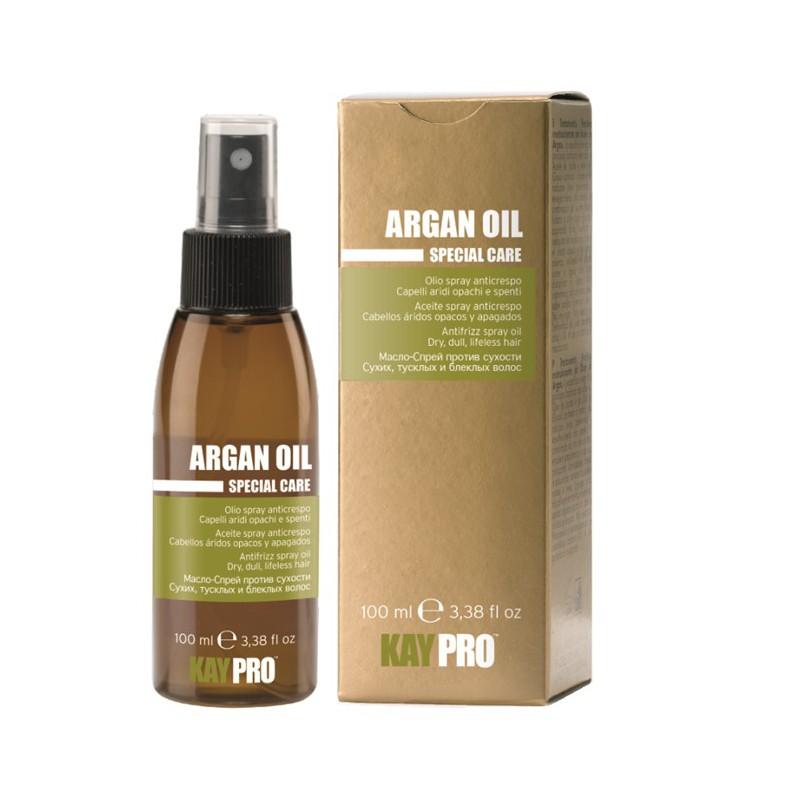 ARGAN OIL ANTI-FRIZZ spray (100ml) - Arganový olej ve spreji proti krepatění vlasů určený pro suché vlasy