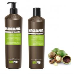 Macadamia Oil set KAYPRO (2x350ml) - set pro jemné a citlvé vlasy s olejem Macadami Oil