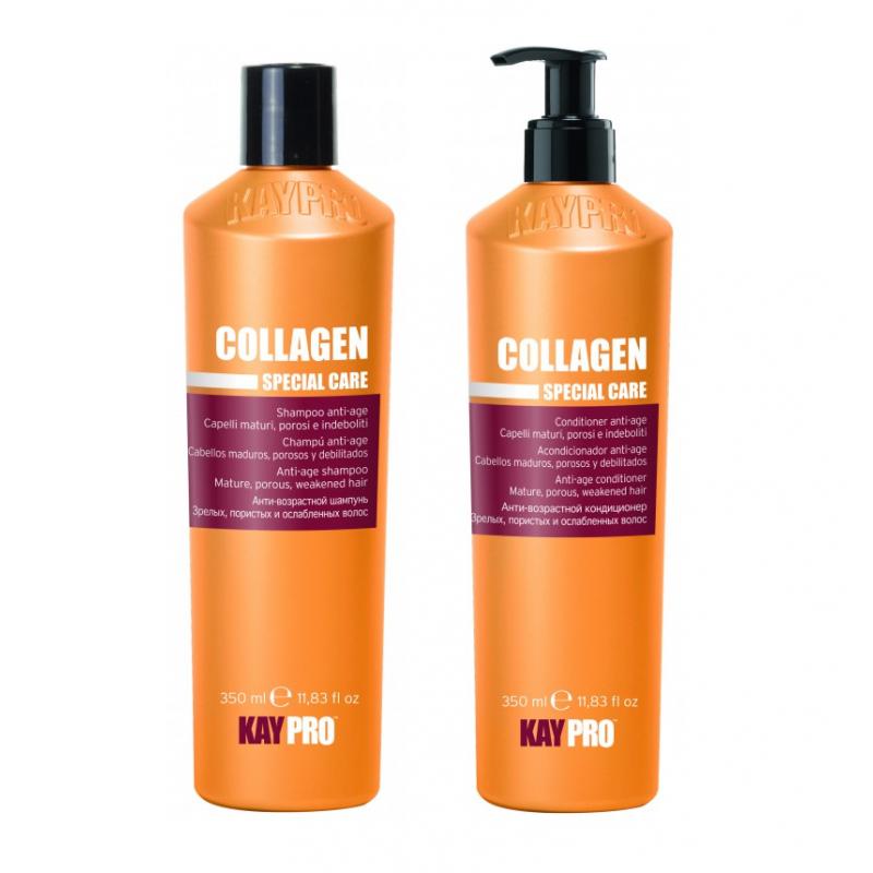 Kolagenový set proti stárnutí vlasů Collagen anti-age (2x350ml)