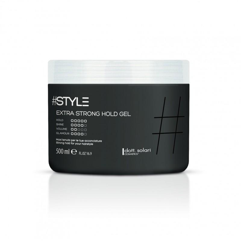 GEL EXTRA STRONG (500g)  - tvarovací gel se silným extra fixačním účinkem nabízí lesklý a dlouhotrvající vzhled