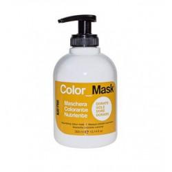 COLOR MASK NUTRIENTE GOLD - zlatá (300ml) - výživná oživující barevná maska