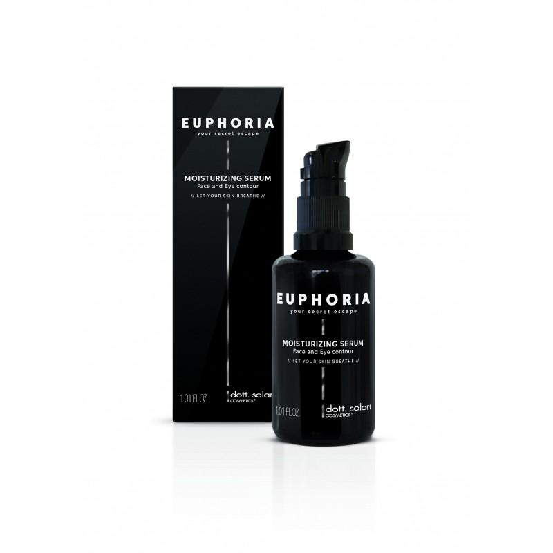 Pánské hydratační sérum na obličej EUPHORIA Moisturizing Serum (30ml) - hydratační sérum pro obličej a oční kontury