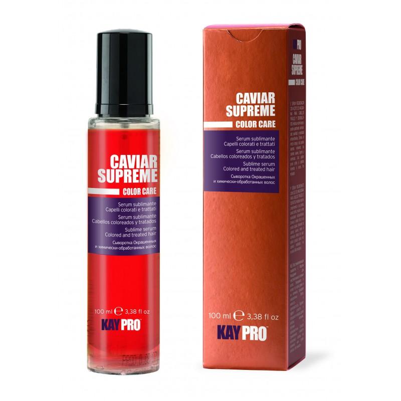 kaviárové ochranné sérum speciálně pro barvené vlasy