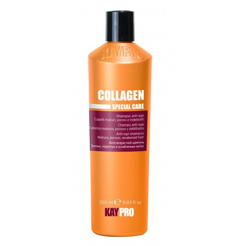 šampon proti stárnutí vlasů s kolagenem