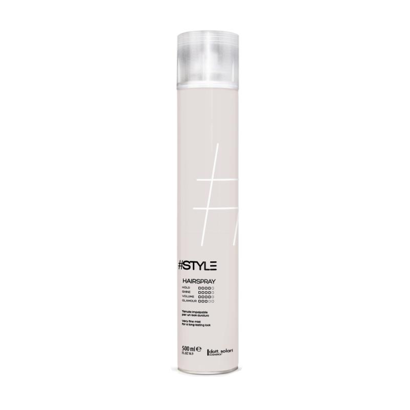 HAIR SPRAY STRONG (500ml)  - lak na vlasy nepostradatelný pomocník pro tvarování kadeří a ideální pro všechny typy účesu