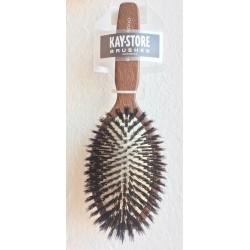kartáč na vlasy se štětinami KAYPRO classic wood brush