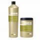 Argan Oil set šampon + maska (2x1000ml) - arganový hydratační a regenerační set na suché vlasy a roztřepené konečky