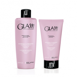 Glam Smooth care set (250ml + 175ml) - vyhlazující péče šampon a maska