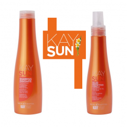 Sluneční ochranný set KAYPRO SUN Protective care - šampon + olej