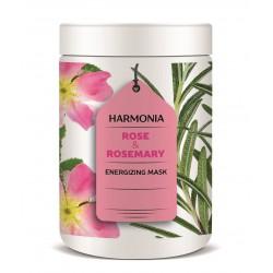 ROSE & ROSEMARY ENERGIZING MASK (500 ml) - energizační maska proti padání a pro mastné vlasy