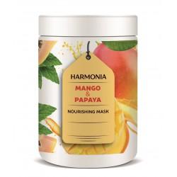 MANGO & PAPAYA NUTRITION MASK (1000 ml) - regenerační a vyživující maska pro jemné a slabé vlasy