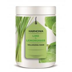 LIME & LEMON GRASS VOLUMIZING MASK (1000 ml) - maska pro dodání objemu vlasům