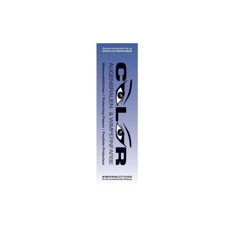 COLOR LASH PAPERS eye protection (96 ks) - ochranné papírky pod oči pro barvení řas a obočí