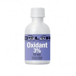 Color liquid Oxidant 3% (50 ml) - tekutý oxidant pro přípravu barvy na obočí a řasy