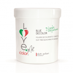 Blue Decolor (500g) - melírovací prášek s protižloutnoucím (platinovým) efektem