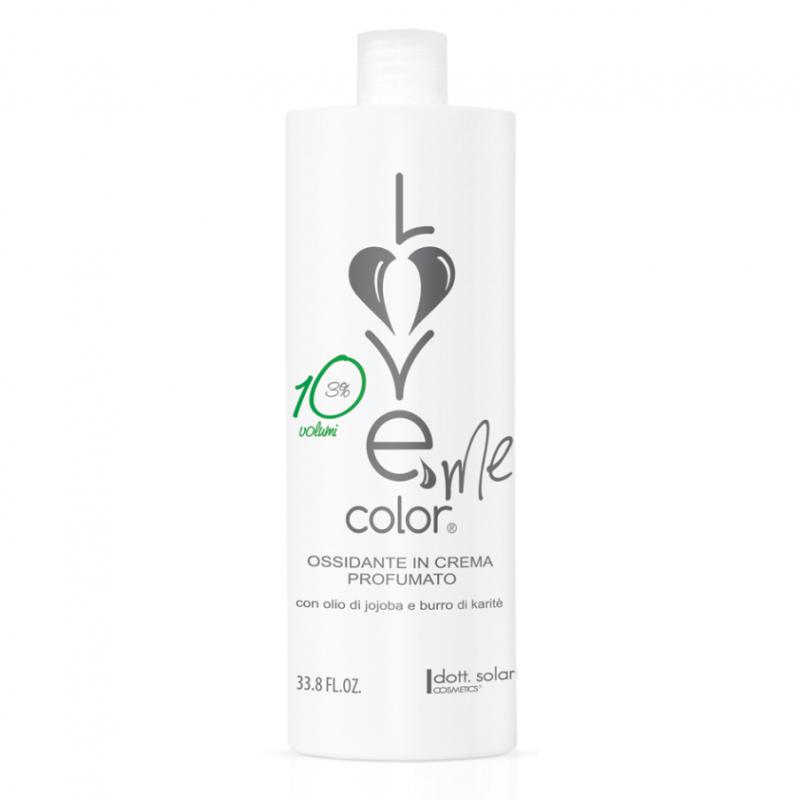 Love me color OXY 3% (1000ml) - krémová oxidační emulze (peroxid) na vlasy