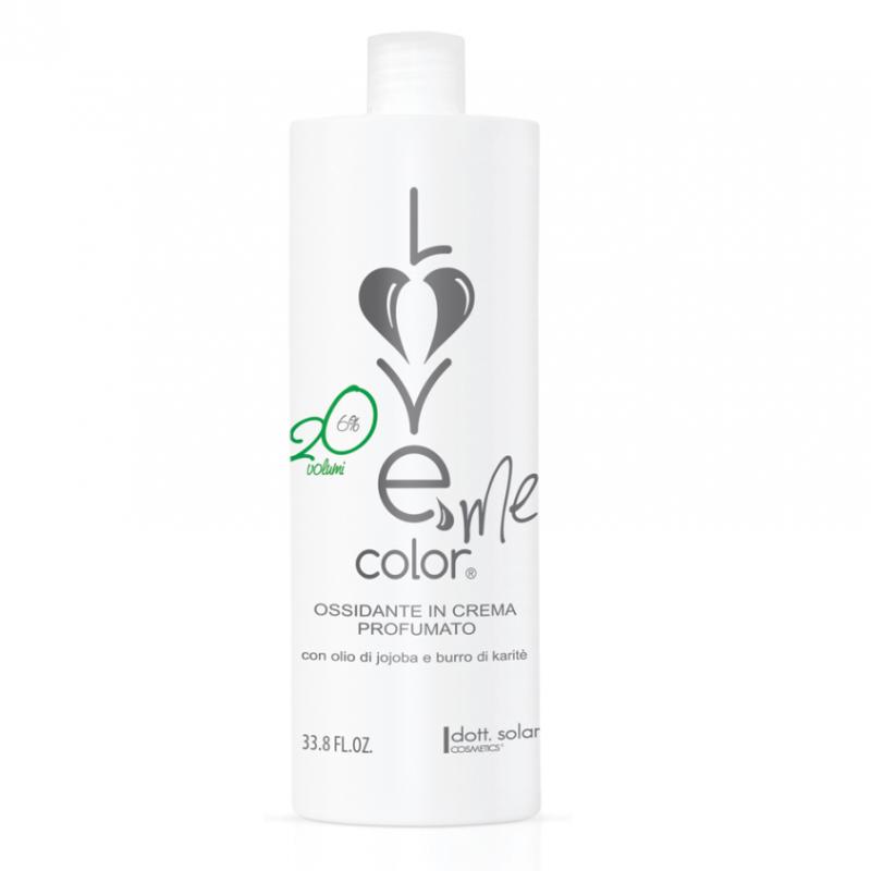 Love me color OXY 6% (1000ml) - krémová oxidační emulze (peroxid) na vlasy