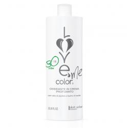 Love me color OXY 9% (1000ml) - krémová oxidační emulze (peroxid) na vlasy