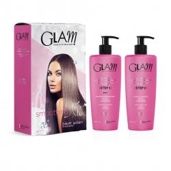 Glam Smoothing set (2x500ml) - profesionální vyhlazující zažehlující ošetření