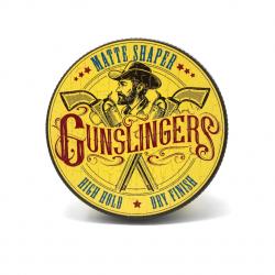 Gunslingers Matte Shaper 75ml - extra matná modelační pasta na vlasy se silnou fixací
