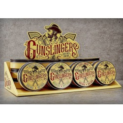 """Gunslingers Clay Wax 75 ml - modelační fixační """"hlína"""" na vlasy s matným efektem"""