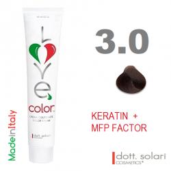 Love me Color 3.0 (100ml) - profesionální barva na vlasy s keratinem